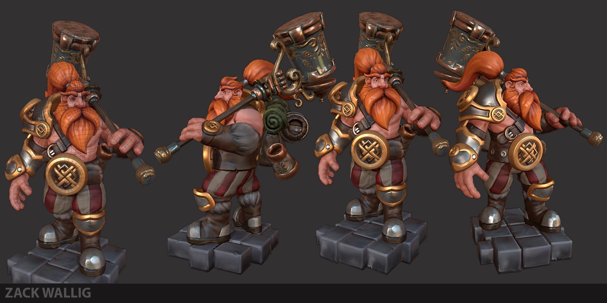 Dwarf final render