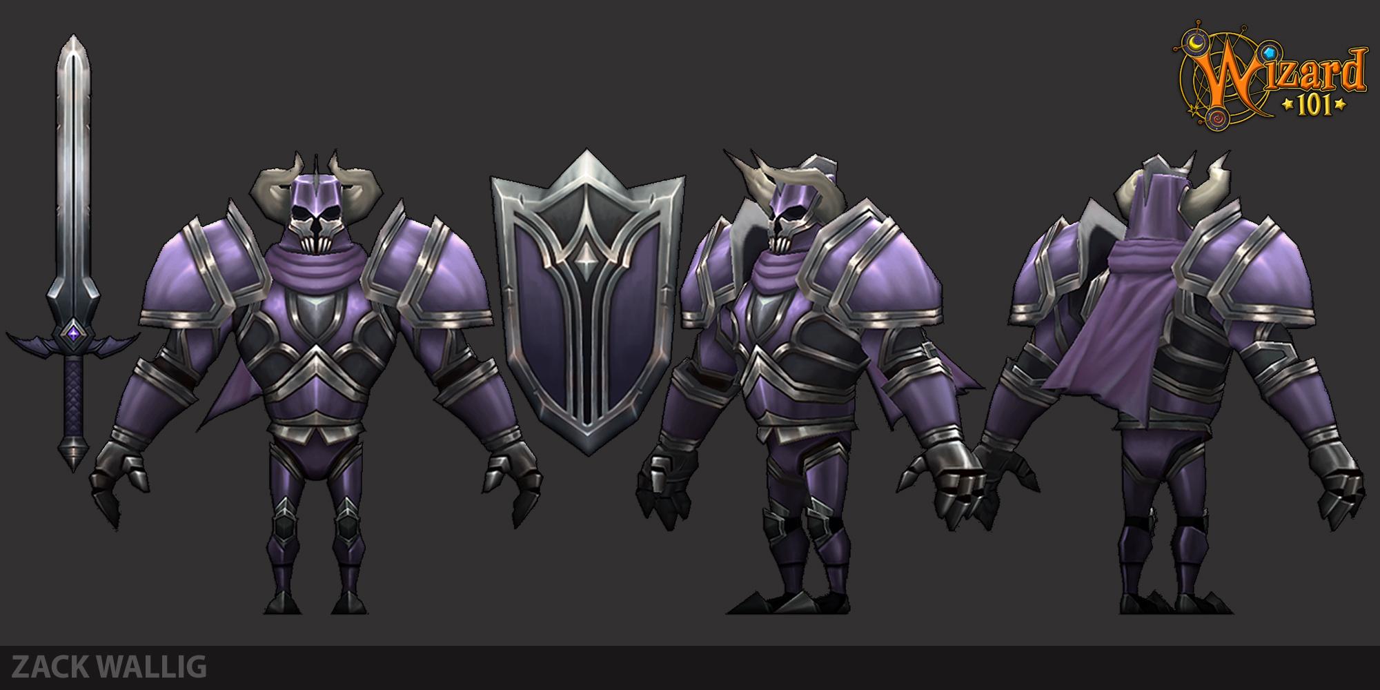 Wizard 101 enemy death knight